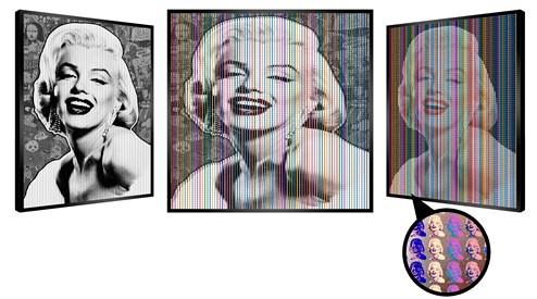 Marilyn's Dream by Patrick Rubinstein - Kinetic Original on Board